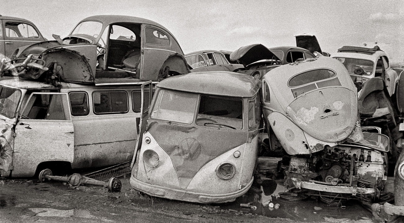 Tarducci's Junkyard, New Haven, 1968