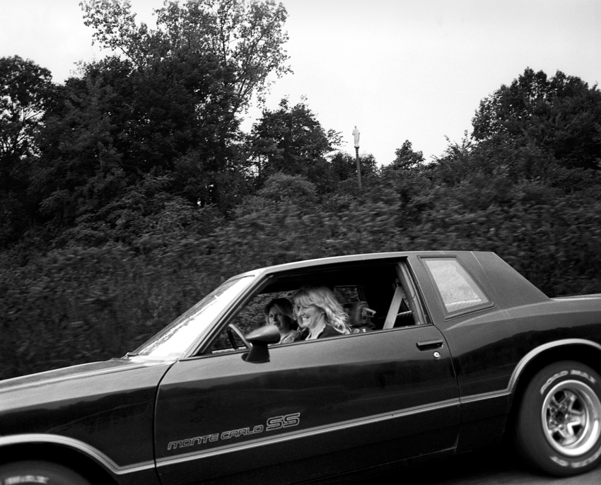 Girls in Monte Carlo SS just north of Hartford, CT (1996)